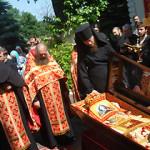 В Лавре молитвенно почтили день памяти священномученика Владимира