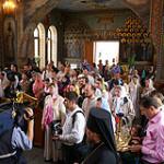 Освящен новый престол храма «Живоносный Источник»