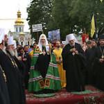 Патриарх Московский и всея Руси Алексий II посетил Лавру