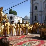 Патриарх Московский и всея Руси Алексий II возглавил Божественную Литургию в Свято-Успенской Киево-Печерской Лавре