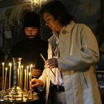 Филипп Киркоров и Николай Басков поклонились Лаврским святыням