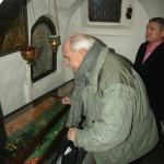 Никита Михалков поклонился святым мощам преподобных отцев Печерских