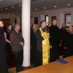 Монахи Лавры присоединили свои молитвы к соборной молитве Церкви во время отпевания Святейшего Патриарха Алексия II