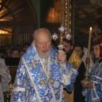 Состоялось освящение лаврского храма во имя зачатия праведной Анной Пресвятой Богородицы