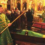 В Лавре почтили память преподобного Варлаама, игумена Печерского