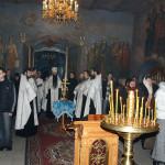 В лаврских храмах совершены соборные панихиды по усопшему Патриарху Алексию II