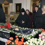 Братія Києво-Печерської Лаври прощалася з настоятелькою Свято-Покровського монастиря