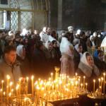 О совершении чина великого освящения воды в Киево-Печерской Лавре