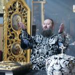 В Лавре была отслужена первая Литургия Преждеосвященных Даров 2009 года