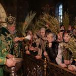 В Лавре воспоминали торжественный Вход Господень в Иерусалим