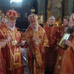 Первый визит Предстоятеля Финляндской Православной Церкви в Украину ознаменовался совершением Литургии в Лавре