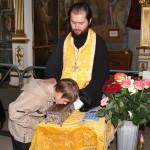 Пребывание мощей святителя Спиридона в Лавре 3 мая