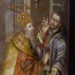 Изображения святого Спиридона Тримифутского, чудотворца, в стенописи Троицкой надвратной церкви и церкви Всех святых Киево-Печерской Лавры