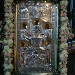 Празднование дня Святой Троицы в Киево-Печерской Лавре