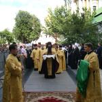 Святейший Патриарх Кирилл возглавил Всенощное бдение в Киево-Печерской Лавре