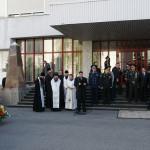 По погибшим героям-чернобыльцам наместник Киево-Печерской Лавры отслужил панихиду