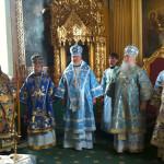 Наместник Лавры принял участие в праздновании в честь иконы «Споручница грешных» (Корецкая)