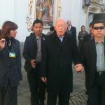 Лавру посетил министр-ментор Республики Сингапур Ли Куан Ю