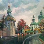 Лавра запечатлена на холстах харьковских художников