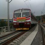 Архиепископ Павел освятил железнодорожное полотно Дарницкого железнодорожно-автомобильного мостового перехода