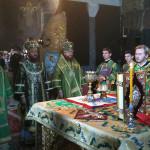 Празднование Собора преподобных отцев, в Дальних пещерах почивающих, ознаменовано общей молитвой