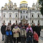 Пациенты киевского интерната приобщились к духовной жизни обители