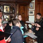 Маленькие паломники получили благословение наместника Лавры