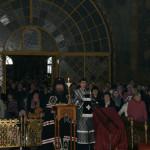 Наместник Лавры отслужил Повечерие с чтением второй части Великого канона