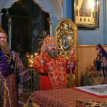 В обители молитвенно почтили память мучениц Веры, Надежды, Любови и матери их Софии
