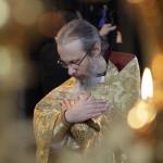 Воскресное богослужение в Лавре возглавил Предстоятель УПЦ