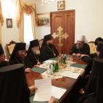 В Лавре состоялось заседание Синодальной комиссии УПЦ по делам монастырей