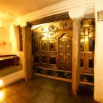 Блаженнейший Митрополит Владимир осмотрел отреставрированные объекты Лавры