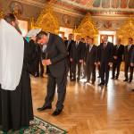 Сотрудники Министерства энергетики и топливной промышленности Украины молились в Лавре