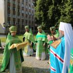 Нисшел Дух Святой и пребывает в Церкви