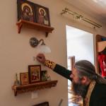 На коейждо от четырех стен да будет крест написан