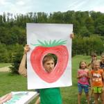 Дети поучались основам веры на природе