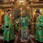 В день памяти прп. Симеона столпника наместник Лавры поздравил правящего архиерея Винницкой епархии