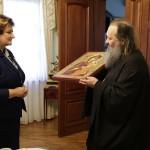 Митрополит Павел встретился с главой парламента Республики Литва