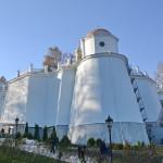 Завершаются реставрационные работы Дебоскетовской стены Лавры