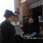 Братія Лаври відвідала дітей з вадами зору на Закарпатті
