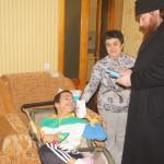 Братия навестила инвалидов г.Боярка