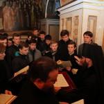 Киевские духовные школы простились с новопреставленным протоиереем Николаем Забугой