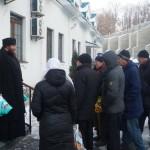 Социальный отдел Лавры выполняет праздничную работу