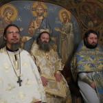 В день памяти святителя Спиридона была совершена ночная Литургия