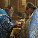 Днесь в ложеснах целомудренныя Анны младоносится Мария Богоотроковица