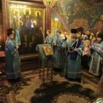 Нижегородский музей передал древнюю икону Божией Матери «Печерская» в Вознесенский Печерский монастырь