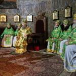 В храме прпп. Антония и Феодосия Печерских было совершено первое богослужение 2015 года