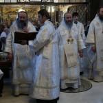 В Лавре были совершены богослужения Крещенского навечерия