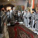 В Лавре была совершена Литургия Преждеосвященных Даров
