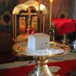 Смирим себе пред Богом, мытарски пощением зовуще: очисти ны Боже, грешныя